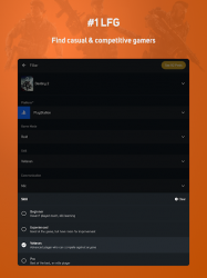 Captura 12 de GamerLink LFG - Find Friends and Teammates! para android