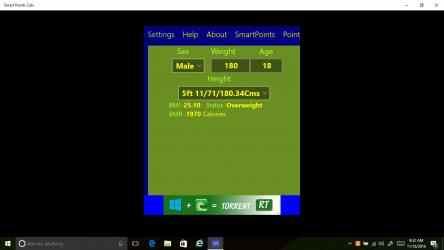 Captura de Pantalla 5 de Smart Points Calc para windows