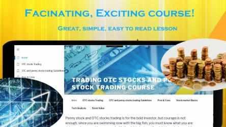Imágen 2 de OTC stocks, microcap and penny stocks trading course para windows