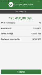 Screenshot 3 de BiopagoBDV para android