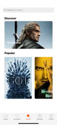 Screenshot 5 de ShowFlix - Series TV para iphone