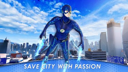 Screenshot 10 de juego de lucha de héroes voladores para android