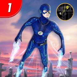 Captura de Pantalla 1 de juego de lucha de héroes voladores para android