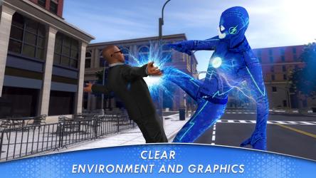 Captura de Pantalla 4 de juego de lucha de héroes voladores para android
