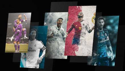 Captura 8 de Sergio Ramos HD Wallpaper para android