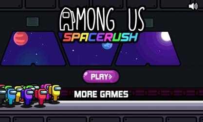 Screenshot 1 de Among U Space Rush para windows