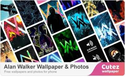 Captura 2 de Alan Walker Wallpaper para android