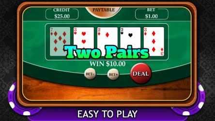 Captura de Pantalla 3 de Casino Video Poker 2019 para windows