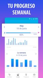 Captura 5 de Podómetro gratis en español para android