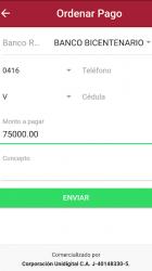 Captura 4 de Tu Pago Movil Banco Bicentenario para android