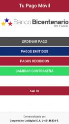 Screenshot 3 de Tu Pago Movil Banco Bicentenario para android