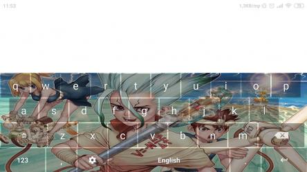 Imágen 8 de Anime Keyboard - Dr. Stone para android