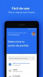 Captura de Pantalla 3 de Uber Lite para android