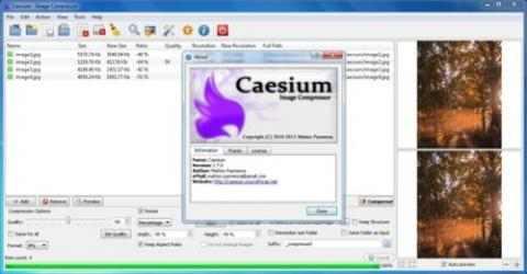 Screenshot 1 de Caesium Image Compressor para windows