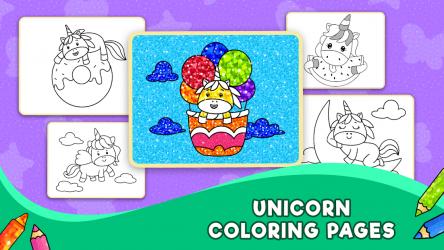 Descargar Unicorn Glitter Coloring Book: Coloring Unicorn ...