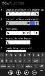 Captura 3 de All Mobile Crossword para windows