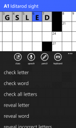 Captura de Pantalla 5 de All Mobile Crossword para windows