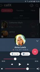 Captura 4 de Call Recorder - Grabar llamadas - callX para android
