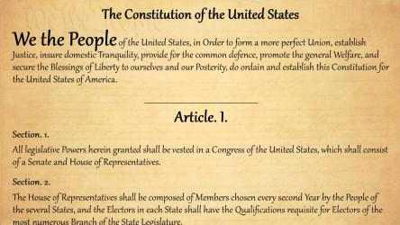 Captura 1 de The United States Constitution para windows