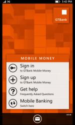 Screenshot 2 de GTBank Mobile para windows