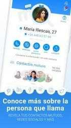 Captura de Pantalla 4 de Me: identifica llamadas y protege contra spam para android