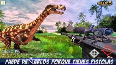 Screenshot 1 de Dino Hunting: Survival Game para windows