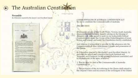 Captura de Pantalla 2 de Australian Parliament para windows