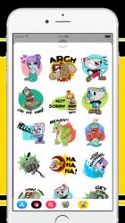 Imágen 3 de Cuphead Stickers para iphone