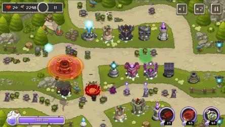 Captura de Pantalla 2 de Rey de la torre de defensa para android