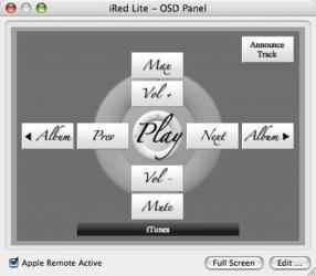 Screenshot 1 de iRedLite para mac