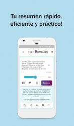 Captura 6 de Text Summary - Resumir textos para android