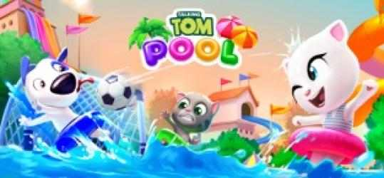 Captura de Pantalla 8 de Talking Tom Pool para iphone