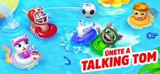 Screenshot 1 de Talking Tom Pool para iphone