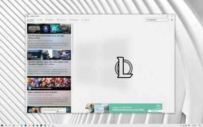 Screenshot 2 de League of News para windows