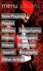 Captura de Pantalla 1 de Lil Wayne Musics para windows