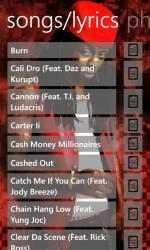 Screenshot 3 de Lil Wayne Musics para windows