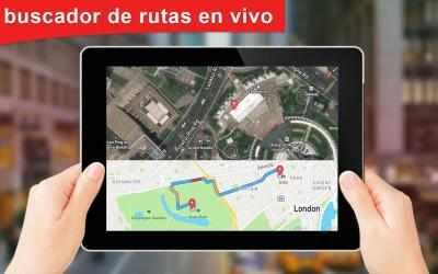 Screenshot 3 de GPS satélite - En Vivo tierra mapas Y voz náutica para android