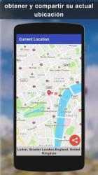 Screenshot 7 de GPS satélite - En Vivo tierra mapas Y voz náutica para android