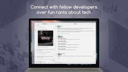 Screenshot 1 de devRant UWP para windows