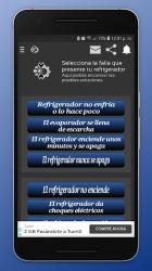 Captura de Pantalla 4 de Reparación De Refrigeradores para android
