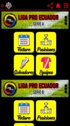 Screenshot 4 de FutbolEc - Futbol Ecuatoriano y algo mas para android