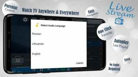 Captura de Pantalla 2 de Livestream TV - M3U Stream Player IPTV para android