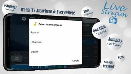 Captura de Pantalla 10 de Livestream TV - M3U Stream Player IPTV para android