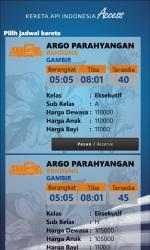 Screenshot 4 de Kereta Api Indonesia Access para windows