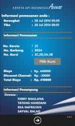 Captura 6 de Kereta Api Indonesia Access para windows