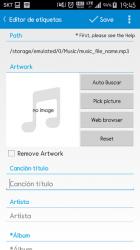 Captura de Pantalla 4 de Star Music Tag Editor para android