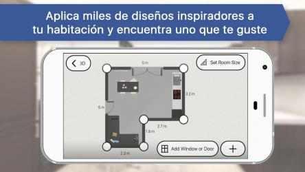 Captura 5 de Diseñador de Habitaciones: Diseño casa 3D para android
