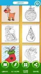 Captura de Pantalla 10 de Navidad Dibujos para Colorear para windows
