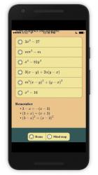 Captura de Pantalla 5 de Factorization para android