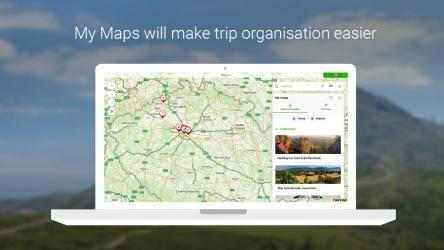 Captura de Pantalla 1 de Mapy.cz para windows